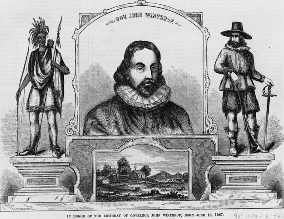 compare john winthrop and john smith